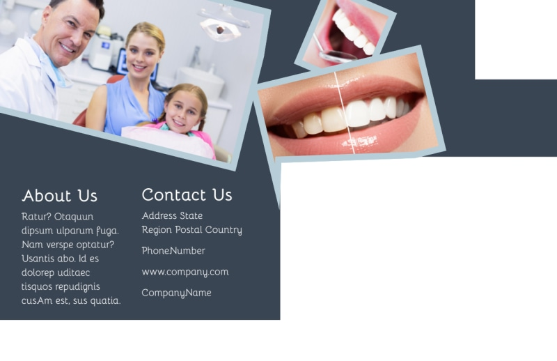 Family Dentists Postcard Template Preview 3