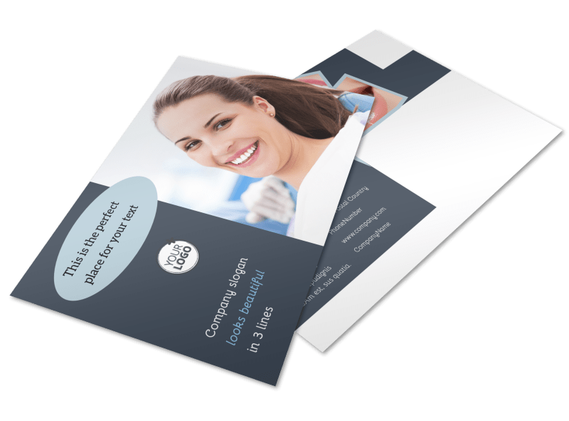 Family Dentists Postcard Template Preview 1