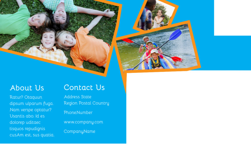 Summer Camps Postcard Template Preview 3