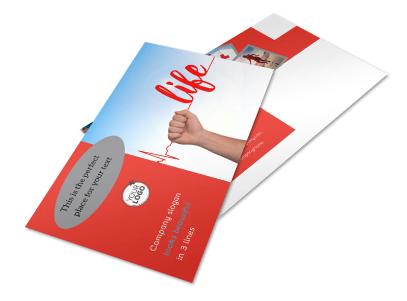 Blood Donation Centers Postcard Template Preview 4