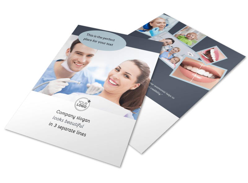 Family Dentists Flyer Template Preview 1