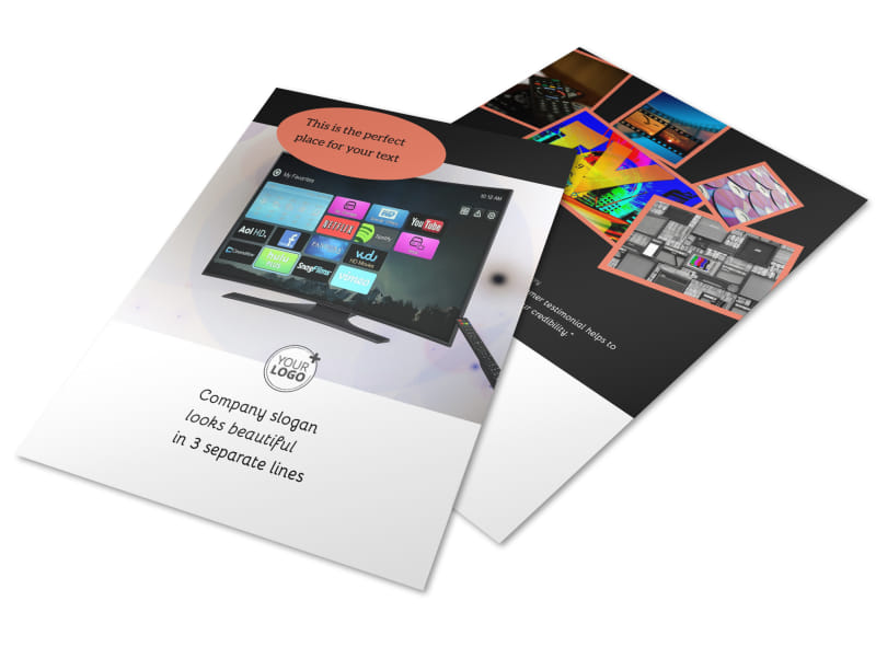 Dvd Video Production Brochure Template | Mycreativeshop