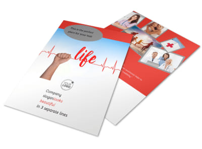 Blood Donation Centers Flyer Template