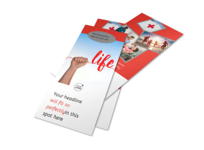 Blood Donation Centers Flyer Template 2