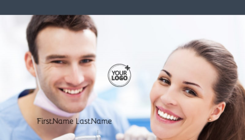 Family Dentists Business Card Template Preview 2