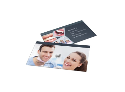 Family Dentistry Business Card Template preview