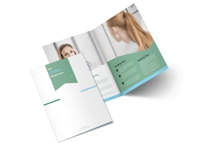 Depression Counseling Bi-Fold Brochure Template 2