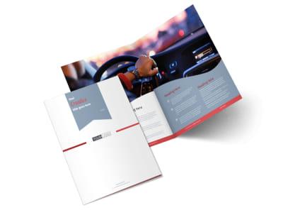Radio/Broadcast Bi-Fold Brochure Template 2
