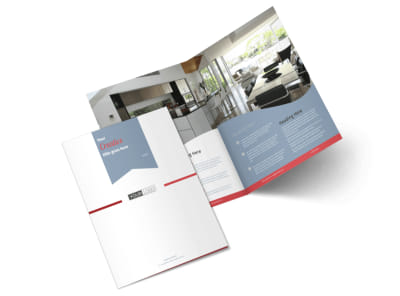 Upscale Apartments Bi-Fold Brochure Template 2