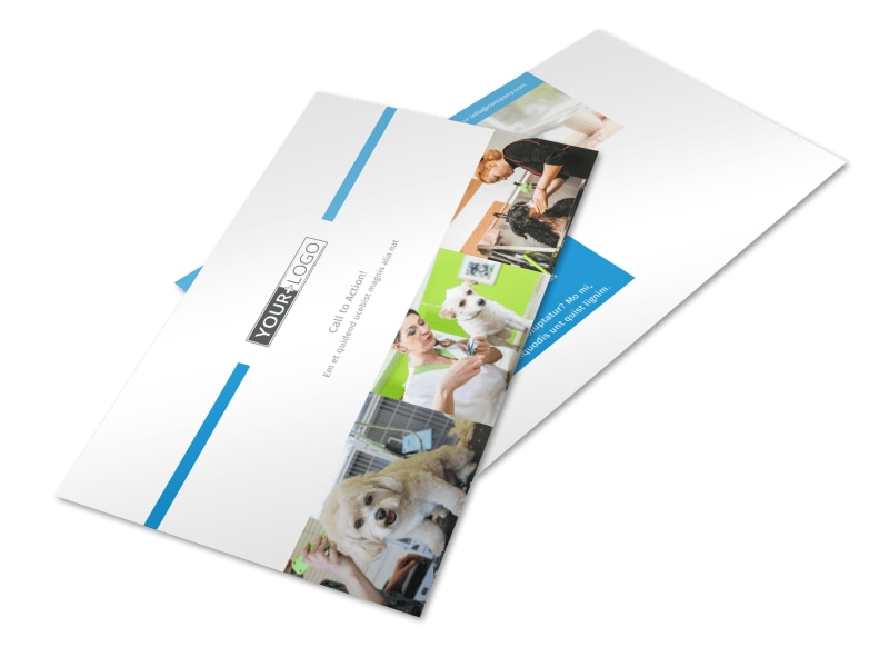 Pet Hotel & Spa Postcard Template 2