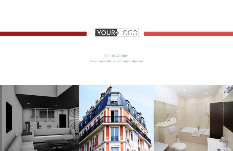 Upscale Apartments Postcard Template Preview 2