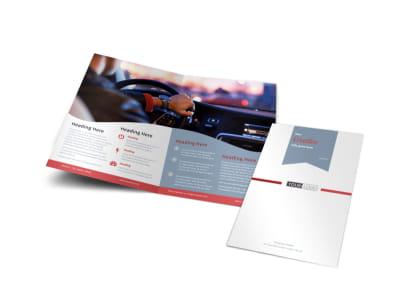Radio/Broadcast Bi-Fold Brochure Template