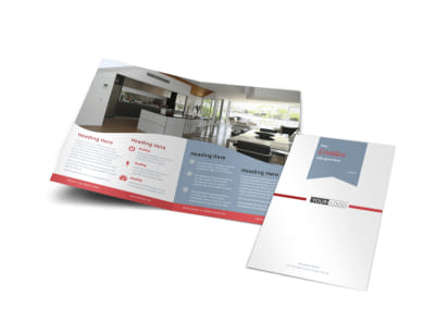 Upscale Apartments Bi-Fold Brochure Template