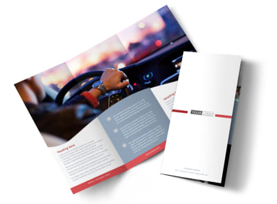 Radio/Broadcast Tri-Fold Brochure Template