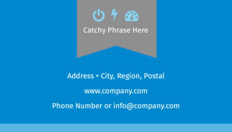 Clean Care Pet Grooming Business Card Template Preview 3