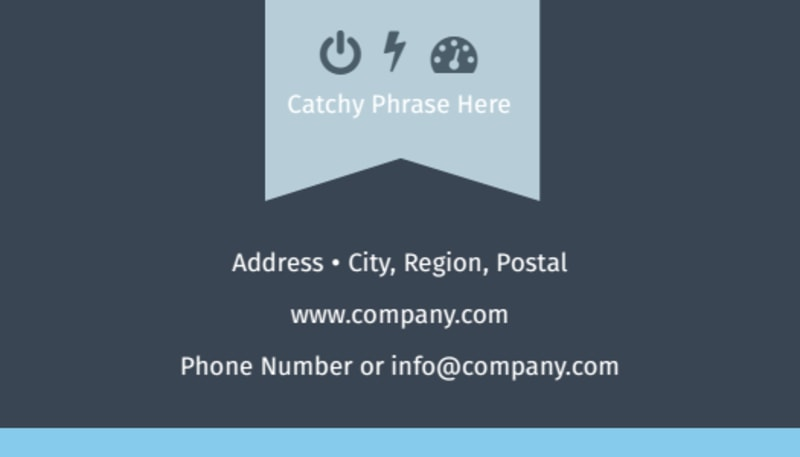 Civil Engineering Business Card Template Preview 3