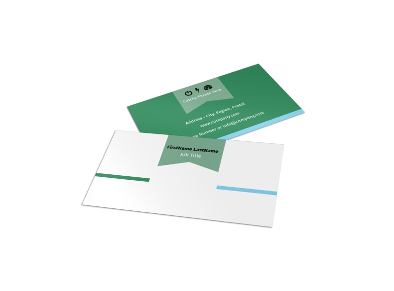 Depression Counseling Business Card Template