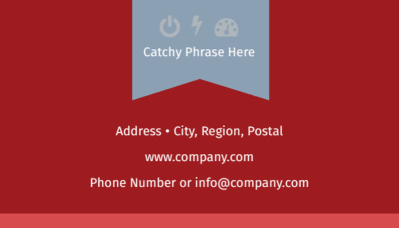 Upscale Apartments Business Card Template Preview 3