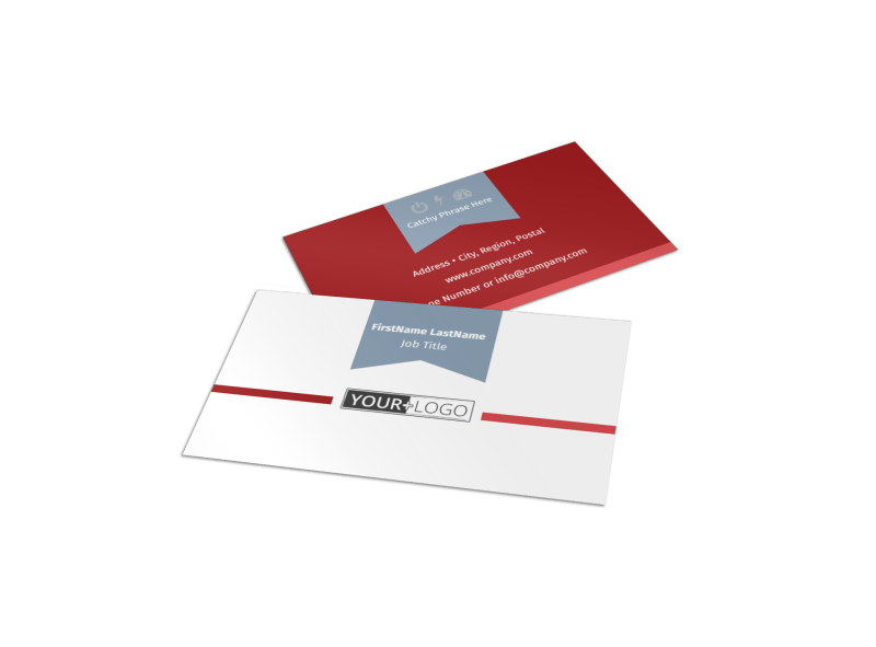 Upscale Apartments Business Card Template Preview 1