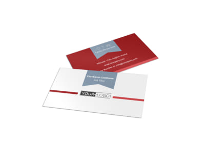 Upscale Apartments Business Card Template preview