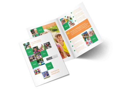 Community Non Profit Bi-Fold Brochure Template 2 preview