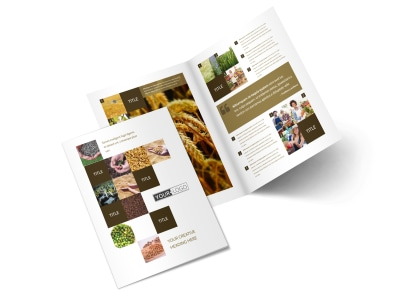 Seed Technology Bi-Fold Brochure Template 2