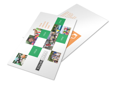 Community Non Profit Postcard Template 2 preview