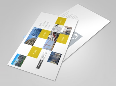 Commercial Construction Postcard Template 2 preview