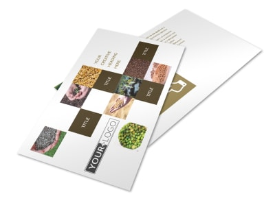 Seed Technology Postcard Template 2