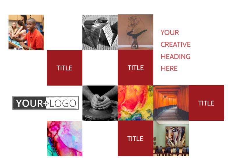 Art & Design School Postcard Template Preview 2