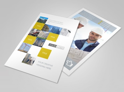 Commercial Construction Flyer Template 3