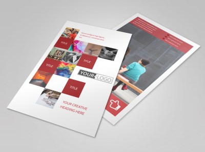 Art & Design School Flyer Template 3