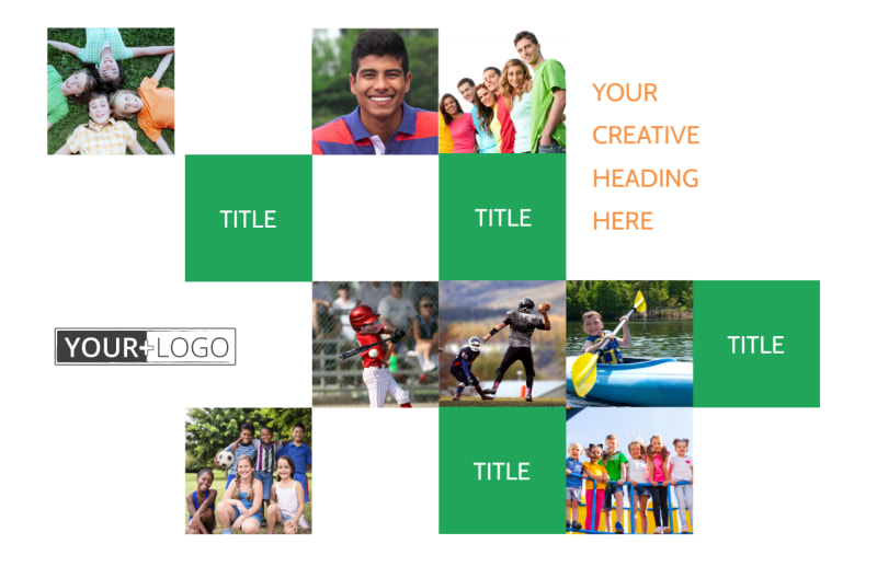 Youth & Community Groups Postcard Template Preview 2