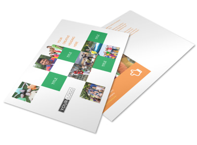 Community Non Profit Postcard Template preview