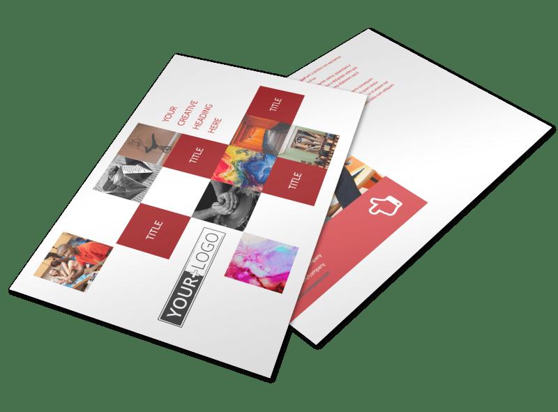Art & Design School Postcard Template Preview 1