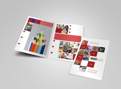 art design school brochure template mycreativeshop