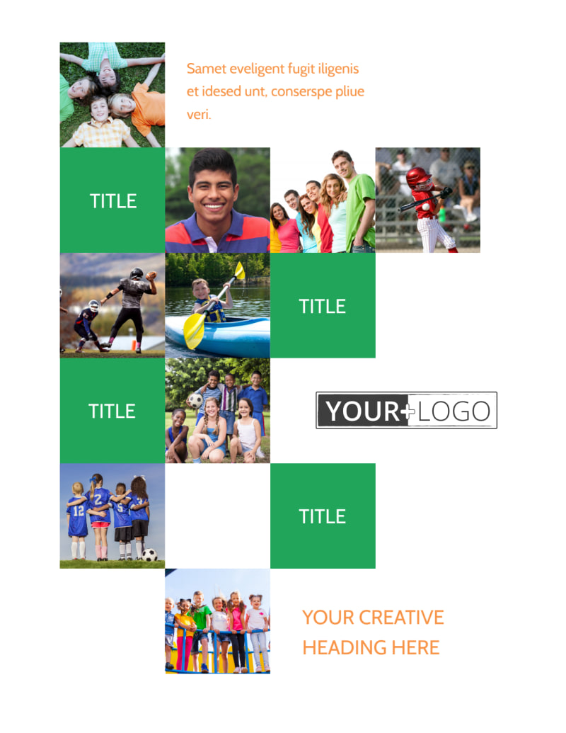 Youth & Community Groups Flyer Template Preview 2