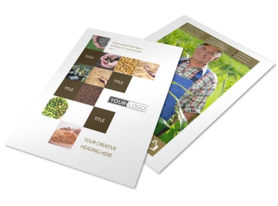 Seed Technology Flyer Template preview