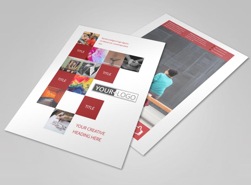 Art & Design School Flyer Template Preview 4