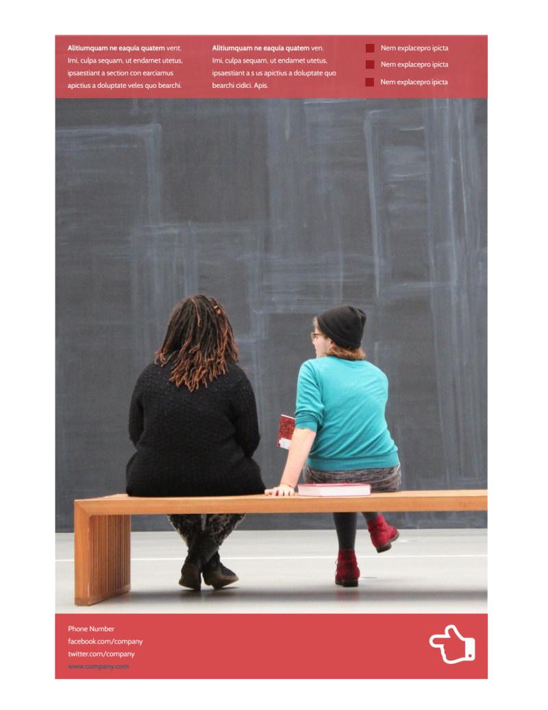 Art & Design School Flyer Template Preview 3