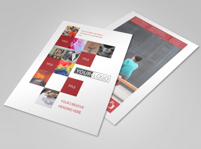 Art & Design School Flyer Template preview