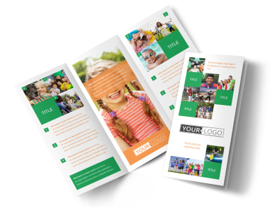 Community Non Profit Brochure Template preview