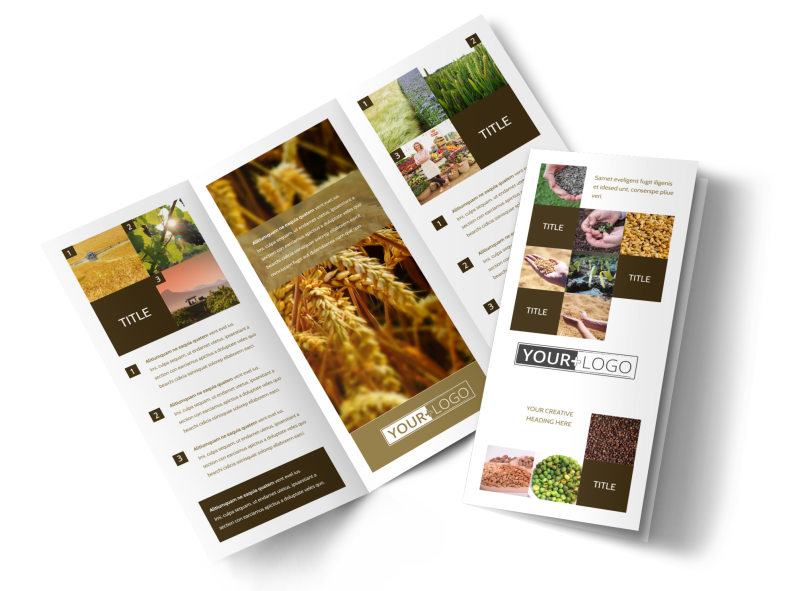 Seed Technology Brochure Template Preview 1