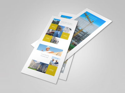 Commercial Construction Flyer Template 2 preview