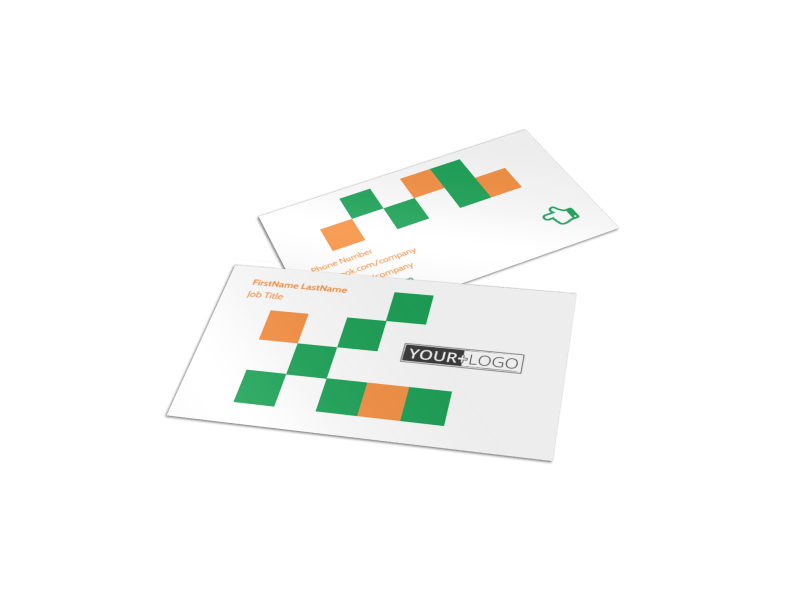 Youth & Community Groups Business Card Template Preview 1
