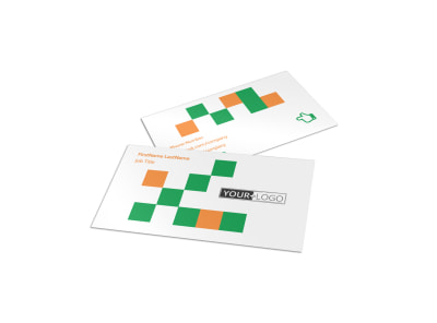 Community Non Profit Business Card Template