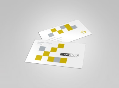 Commercial Construction Business Card Template preview