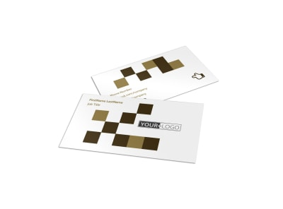 Seed Technology Business Card Template