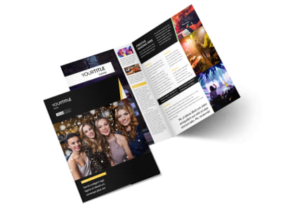 Night Club & Lounge Bi-Fold Brochure Template 2 preview