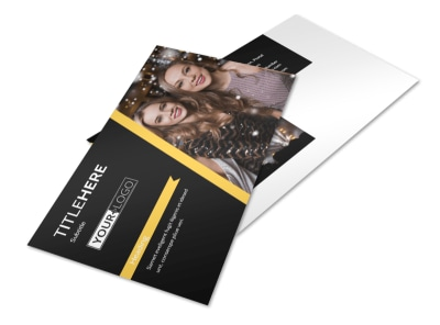 Night Club & Lounge Postcard Template 2 preview